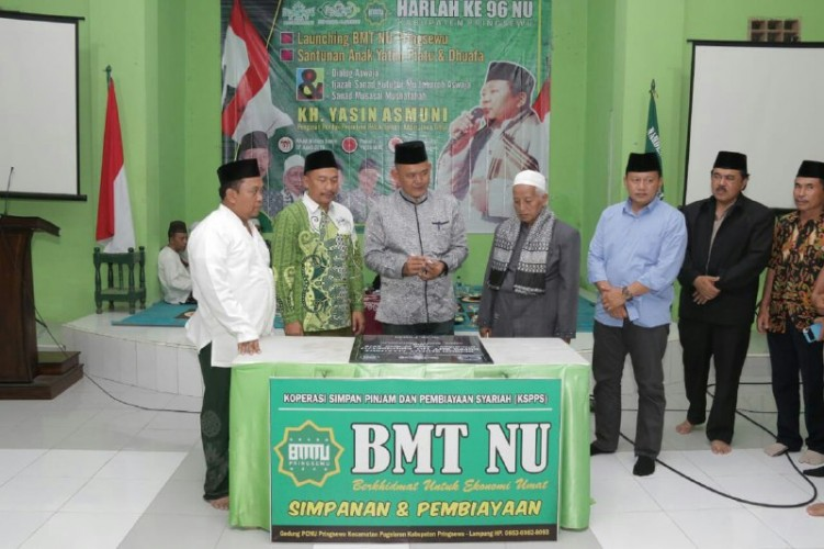 PCNU Pringsewu Luncurkan BMT Nahdlatul Ulama
