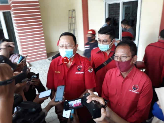 PDIP Lampung Jamin Tak Akan Ubah Dukungan