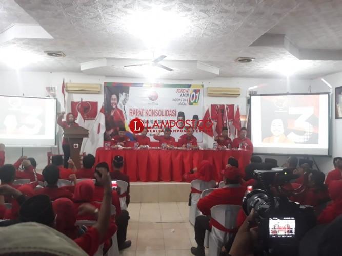 PDIP Tuba Siap Menangkan Jokowi-Ma'ruf 60 Persen