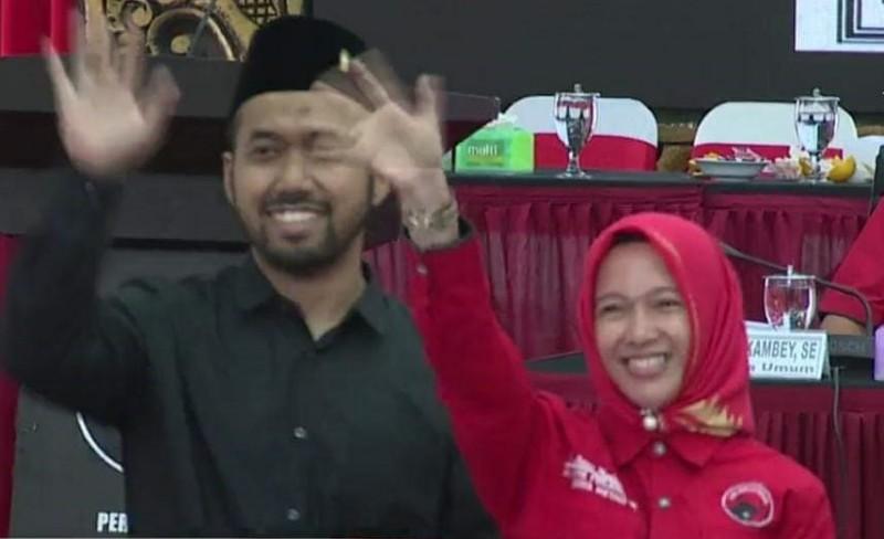 PDIP Usung Anna Morinda-Frits Akhmad Nuzir Maju Pilkada Metro