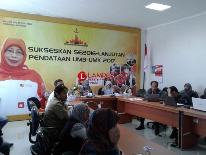 PDRB Lampung Catatkan Rekor Tertinggi di Tiga Tahun Terakhir