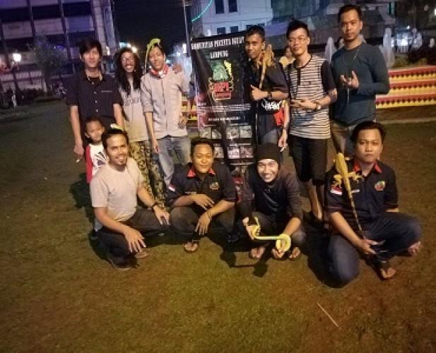 Pecinta Iguana Lampung Beri Tips Pelihara Reptil dengan Aman