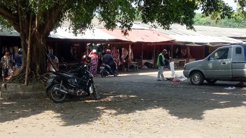 Pedagang Daging Sapi di Lampura Sepi Keluhkan Pembeli