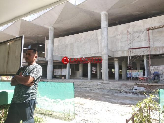 Pedagang Pasar Pulung Kencana Tagih Janji PT Brantas