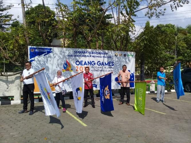 Peduli Sosial, Kemenkeu Lampung Bagikan Sembako