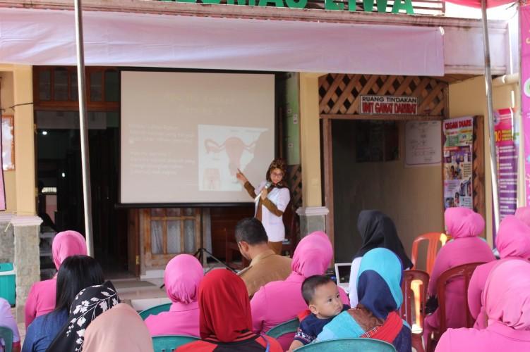 Peduli Wanita, Bhayangkari Lambar Gelar Baksos Deteksi Kanker Serviks dan Payudara