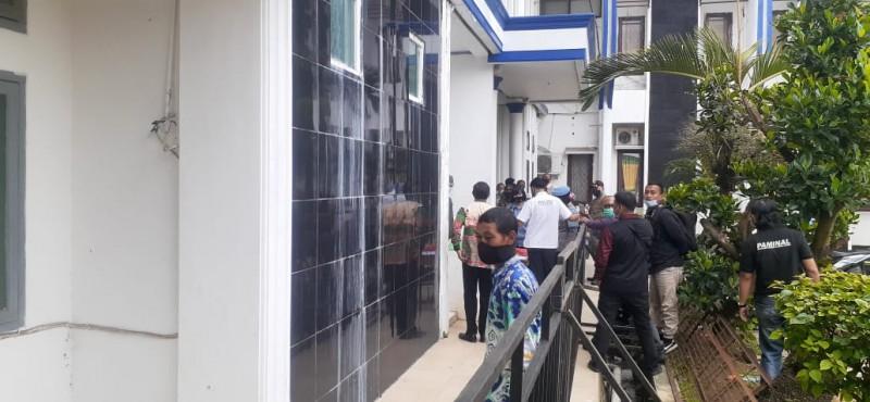 Pejabat di Lampung Utara Lakukan Tes Urine