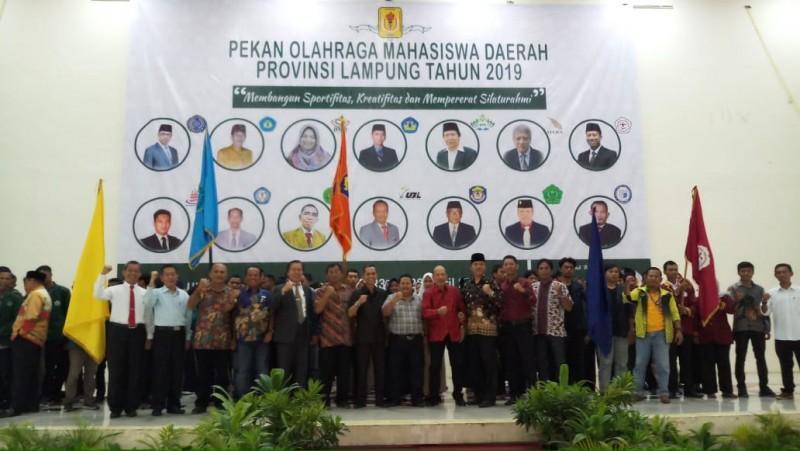 Pekan Olahraga Mahasiwa Lampung Ajang Pembentukan Karakter dan Sportifitas