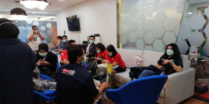 Pekerja Huawei di Gedung BRI Diduga Terjangkit Virus Korona