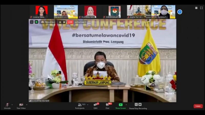 Pekon Lampung Lawan Covid-19 dengan Strategi Pentahelix