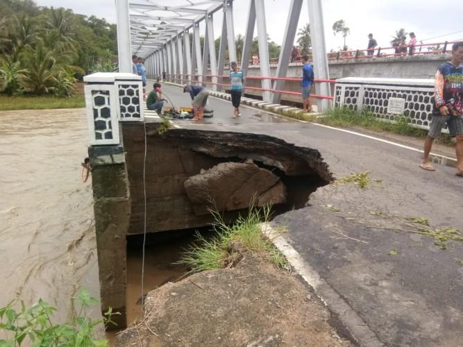 Pekon Sukarame Pesisir Barat Terendam Banjir