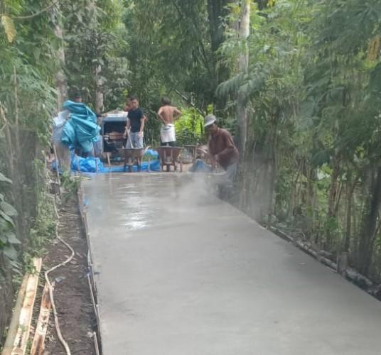 Pekon Way Empulau Ulu Prioritaskan Jalan Pemukiman