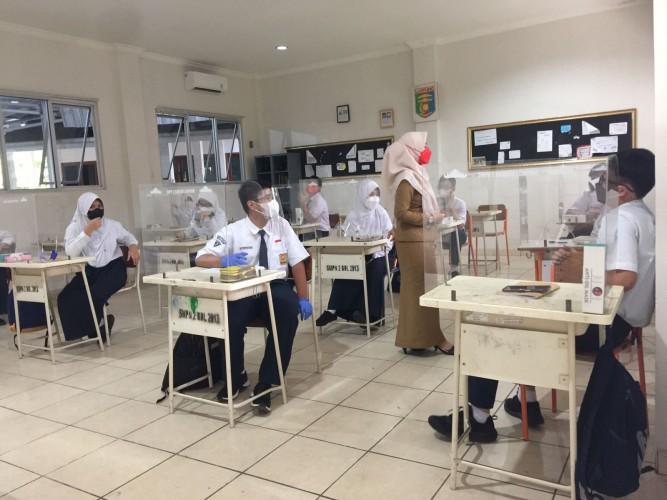 Pelajar dan Guru Antusias Laksanakan PTM