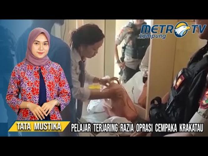 Pelajar Terjaring Razia Cempaka di Hotel Bandar Lampung