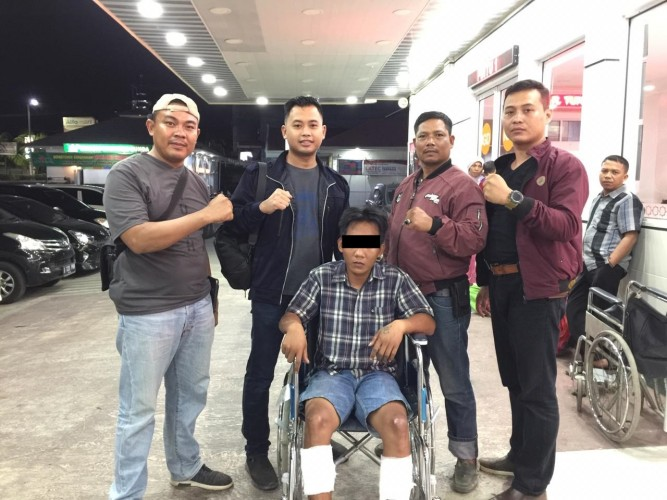 Pelaku Begal Ditangkap di Jalintim usai Tujuh Kali Beraksi
