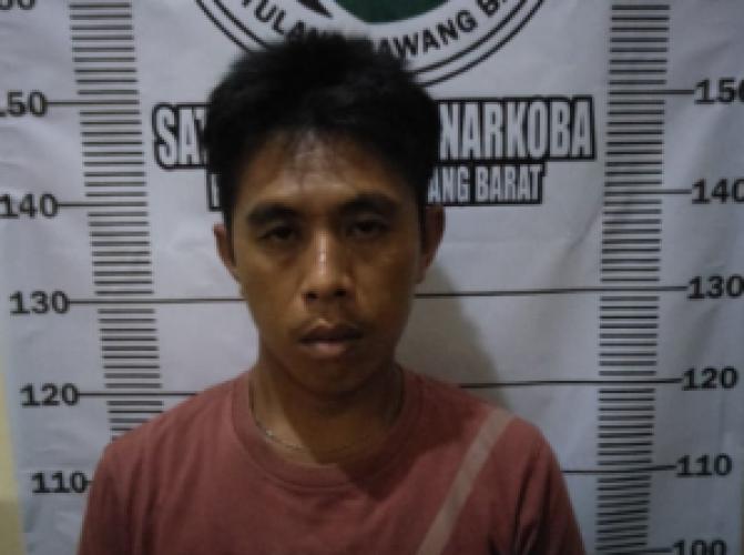 Pelaku Narkoba Ditangkap di Tulangbawang Barat