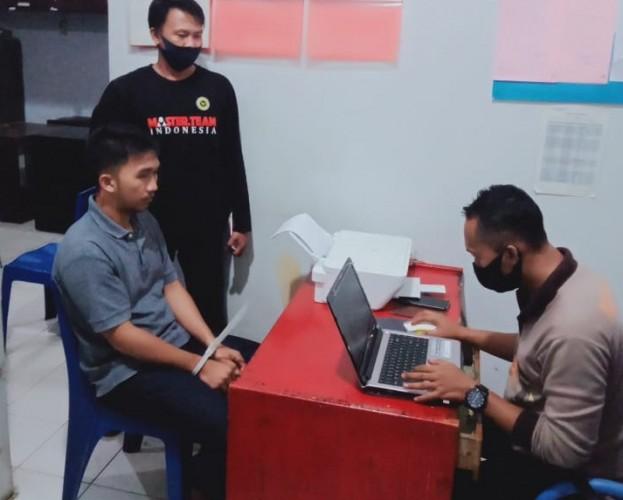 Pelaku Pembacokan di Lampung Utara Menyerahkan Diri