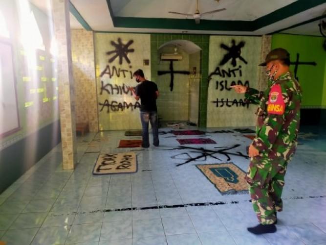 Pelaku Vandalisme di Musala Tangerang Berstatus Mahasiswa