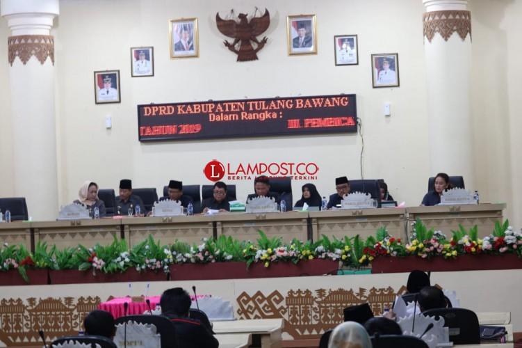Pelantikan Pimpinan DPRD Tulangbawang Batal Digelar Pekan Ini