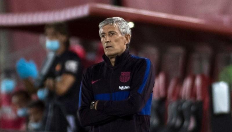 Pelatih Barcelona Setien Resmi Dipecat