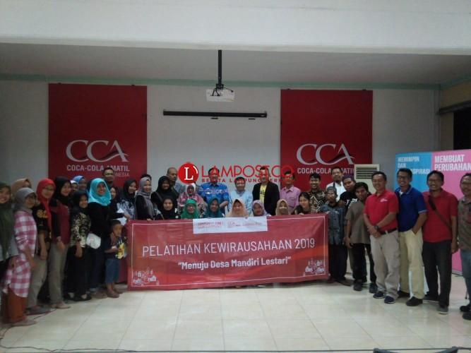 Pelatihan Wirausaha CCAI Bahas Cara Membangun Citra Merek