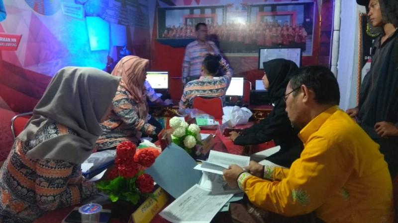 Pelayanan Disdukcapil Jadi Primadona di Anjungan Bandar Lampung