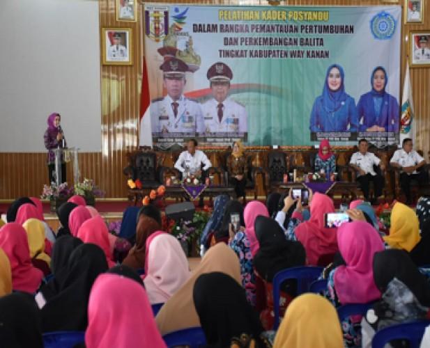 Pelayanan Kesehatan Maksimal Perlu Didukung Kapasitas Kader Posyandu