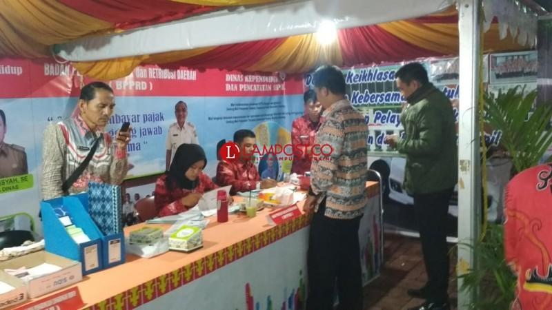 Pelayanan Satu Pintu Pemkot Bandar Lampung di Lampung Fair