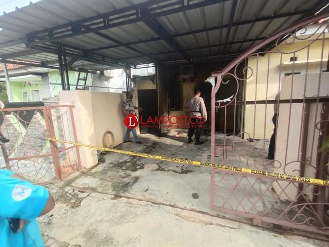 Pelempar Molotov di Perumahan Kedaton Asri Diduga Dua Orang
