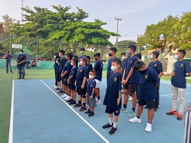 Pelti Metro Lepas 22 Atlet pada Sirkuit Tenis Junior Lampung