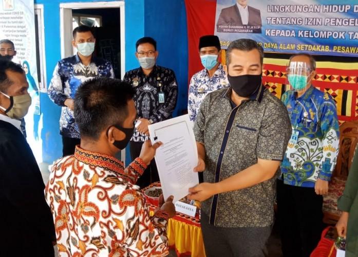 Pemanfaatan Hutan Register di Pesawaran Dapat Restu Kementerian LHK