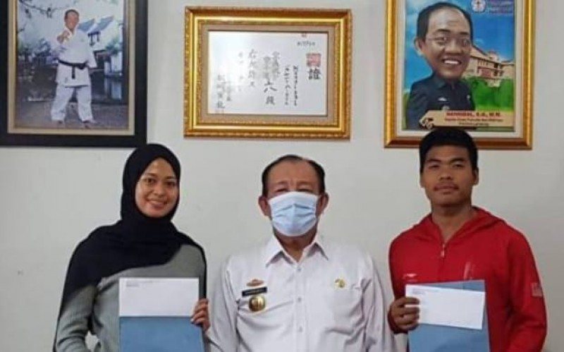Pemanggilan 2 Karateka ke Pelatnas Untungkan Lampung