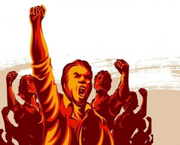 Pembahasan Materi UU Cipta Kerja Dikalahkan Berita Aksi Massa