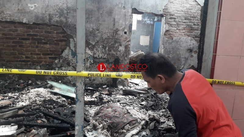 Pembakar Dua Rumah di Pelita Diduga Alami Gangguan Jiwa