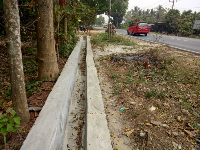 Pembangunan di Desa Kampungbaru Dinilai Tak Transparan