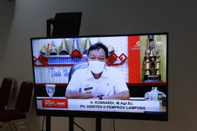 Pembangunan di Lampung Tetap Berjalan di Tengah Pandemi