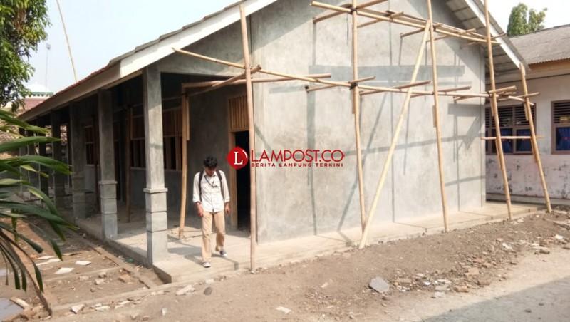 Pembangunan di SDN Kualasekampung Terhenti karena Dana Belum Cair