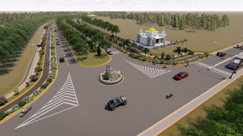 Pembangunan Dua Jalur di Tubaba Ditunda Akibat Korona