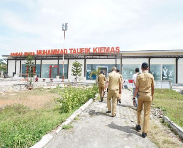 Pembangunan Fasilitas Pendukung Bandara M Taufik Kiemas Terus Dilakukan