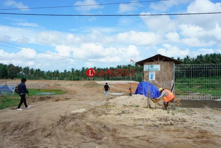 Pembangunan Gardu Induk di Sidomulyo Belum Kantongi IMB