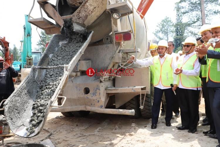Pembangunan Gedung Budaya Lampung Barat Dimulai
