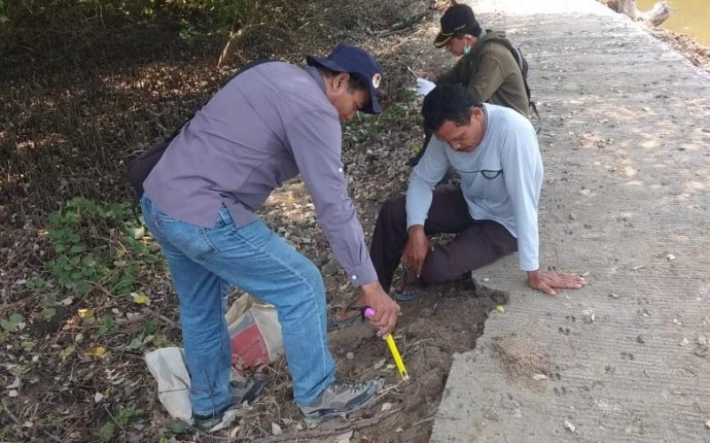Proyek Jalan Ekowisata Kualajaya Diduga Banyak 'Disunat'