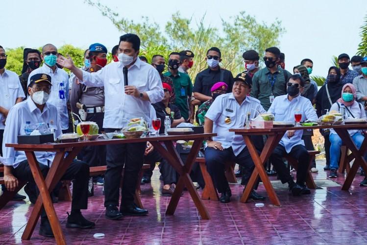 Pembangunan Lampung Jadi Atensi Pusat
