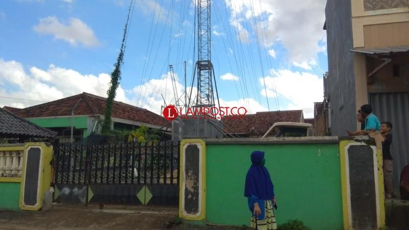 Pembangunan Menara BTS di Tanjungbaru Diduga Palsukan Izin Warga