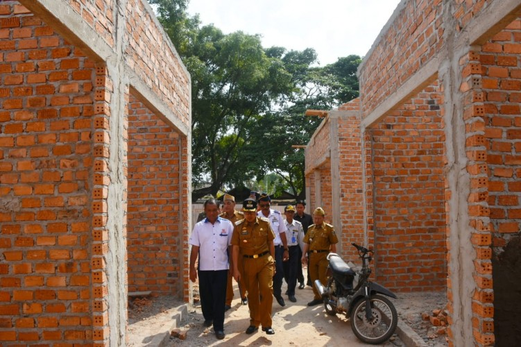 Pembangunan Pasar Purbolinggo Telan Dana Rp1,9 Miliar