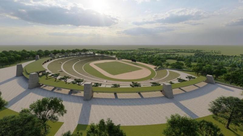 Pembangunan Stadion Internasional Tubaba Telan Rp50 Miliar