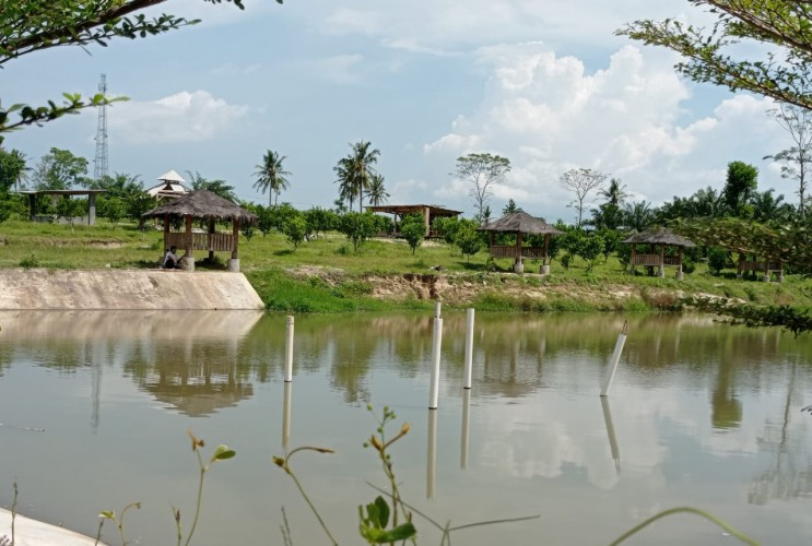 Pembangunan Wisata di Desa Pancasila Hampir Rampung
