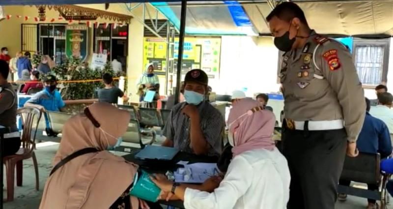 Pembayar Pajak di Samsat Kalianda Wajib Sudah Divaksin