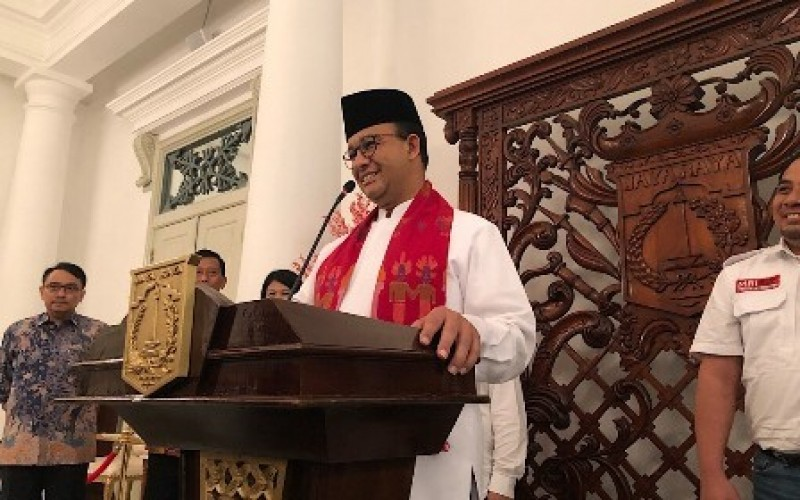 Pembuat Pidato Anies Dibayar Rp392 juta