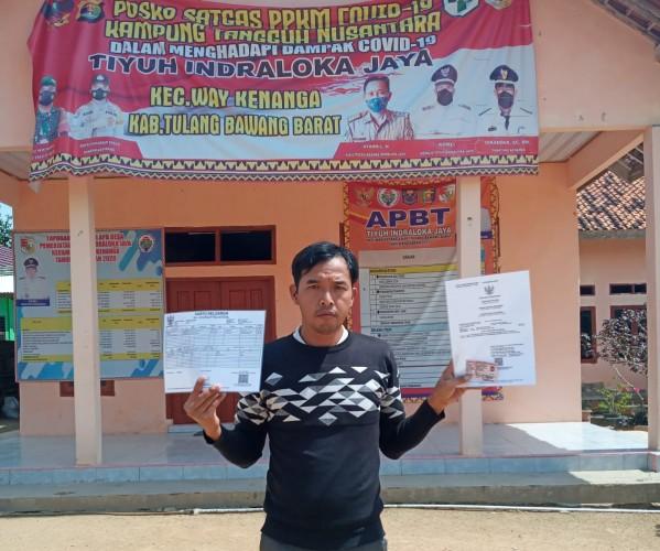Pembuatan Adminduk Tingkat Desa di Tubaba Bayar Rp900 Ribu